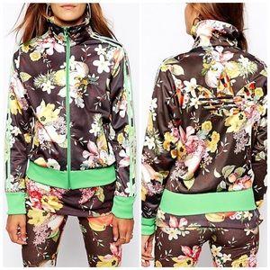 💖NEW Adidas Jardim Fruta Track Jacket